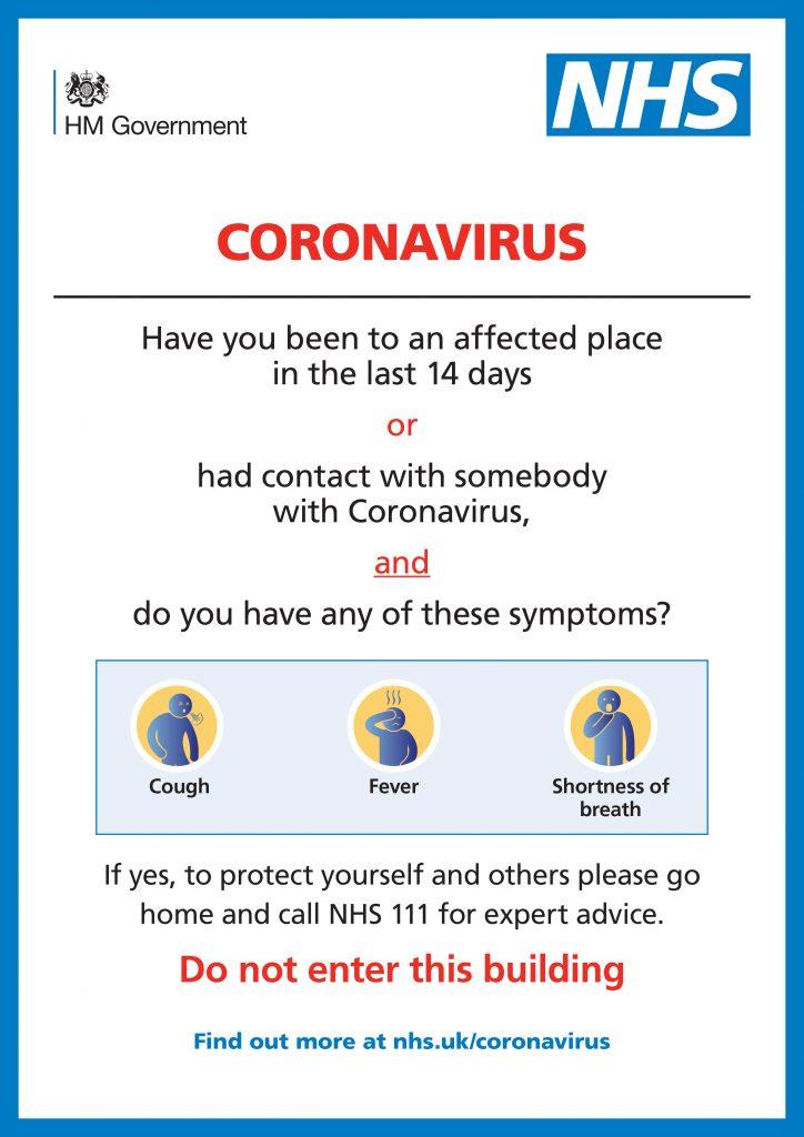 NHS Coronavirus Alert!
